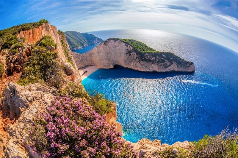 Harta Zakynthos Grecia De Weekend