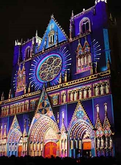 Festivalul de lumini in Lyon