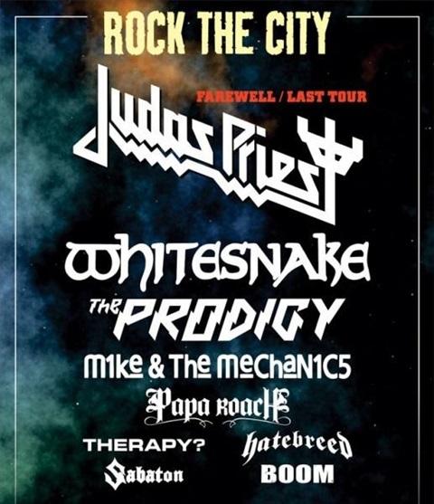 Rock the City 2011 Bucuresti
