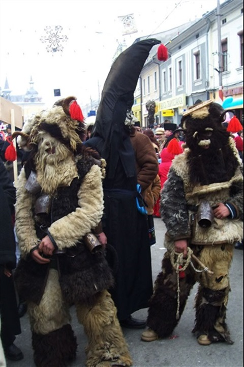 Customs and Traditions Festival Winter Marmatia ""