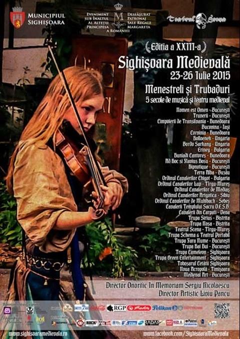 Festival Medieval Sighisoara.