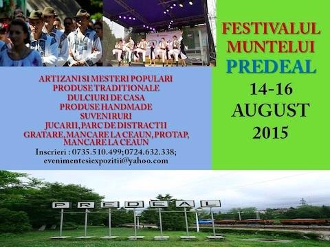 Festivalul muntelui Predeal