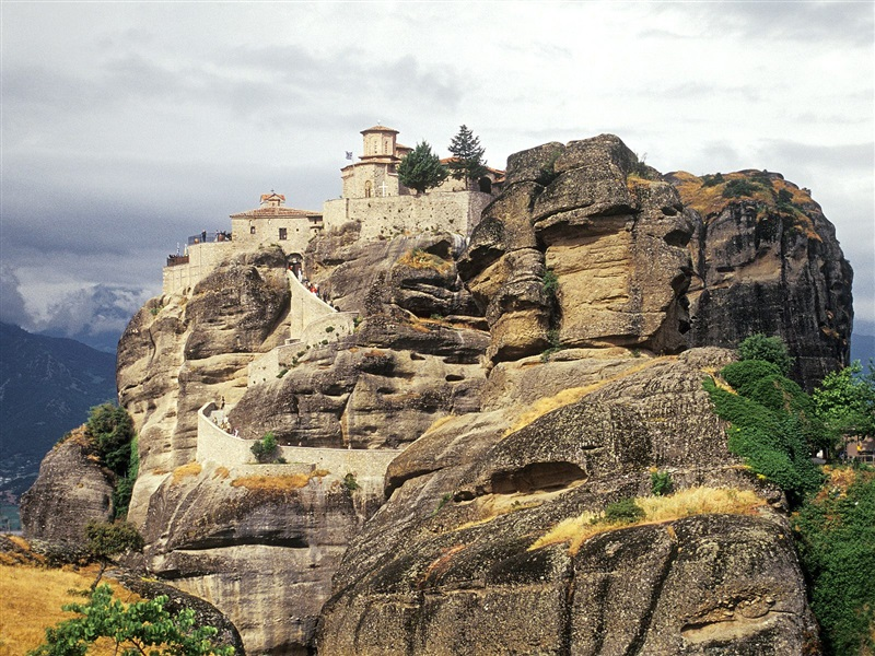 Meteora Tesalia Informatii Si Galerie Imagini Hoteluri In