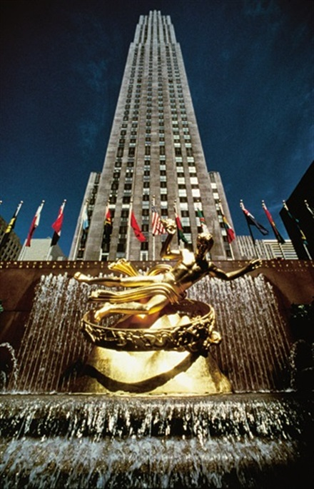 Imagine principala Rockefeller Center