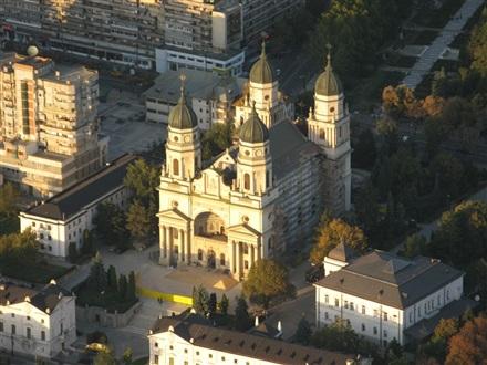 Catedrala Mitropolitana - Iasi, Regiunea Moldova | Informatii si galerie imagini, hoteluri in apropiere