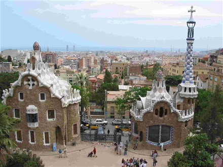 Imagine principala Parcul Guell