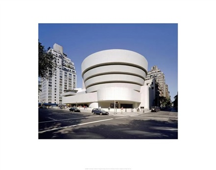 Imagine principala Muzeul Solomon R. Guggenheim New York