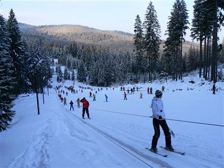 Imagine principala Partia de Ski Harghita Bai
