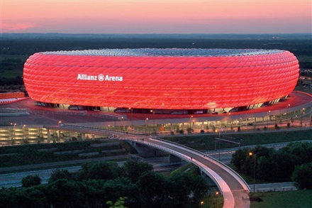 Imagine principala Allianz Arena
