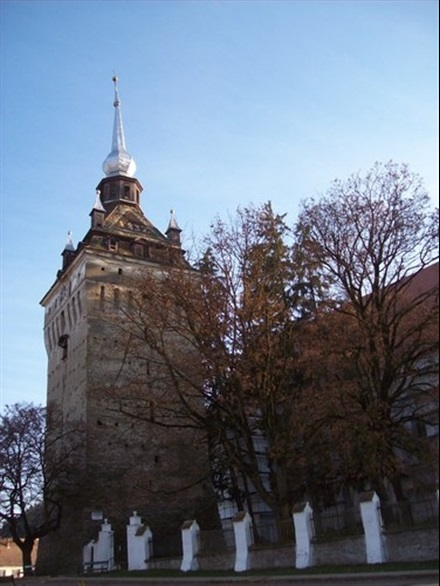 Imagine principala Biserica fortificata Saschiz