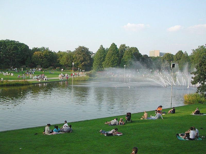 Parc in Hamburg