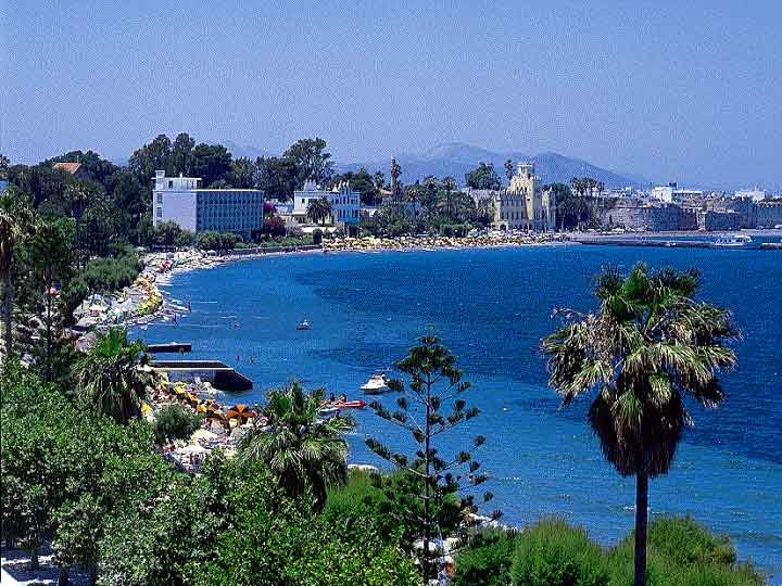 how to get from kardamena to kos town
