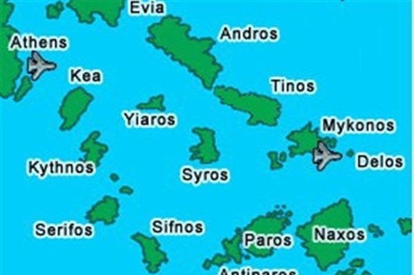 Despre Cyclades Grecia Prezentare Imagini Informatii Turistice