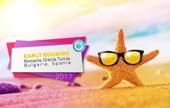 Early Booking vacante pe litoral
