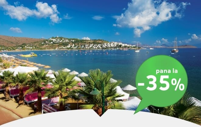 EARLY BOOKING CHARTER AVION BODRUM