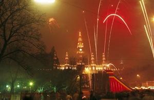 New Year  in Austria