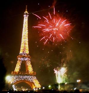 Revelion in Franta