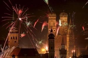 Revelion in Germania