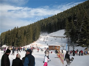 Skiing in Bulgaria