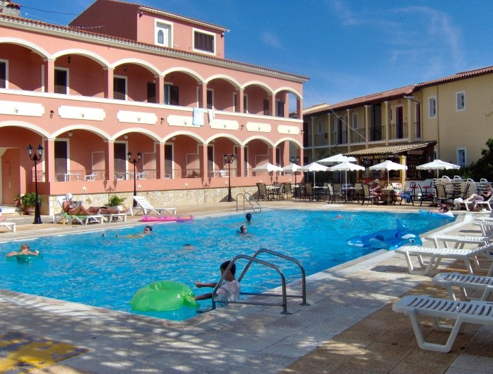 book at hotel eleni, ipsos, corfu island, greece