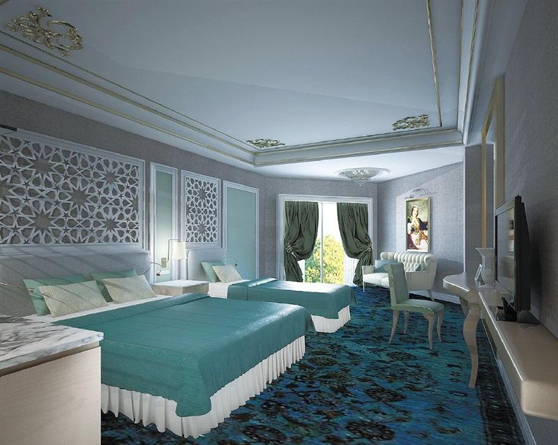 Royal Taj Mahal Hotel Side