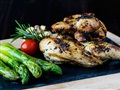 Grilled Baby Chicken Marinated With Chimichurri Spice
