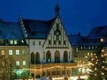 Harta Turistica Cu Hoteluri Amberg Rhineland Palatinate Germania