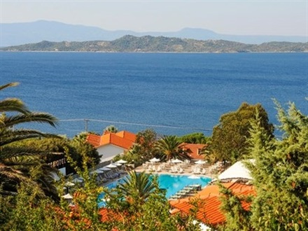 Main image Hotel Aristoteles Holiday Resort Spa  Chalkidiki Mount Athos Ouranouolis