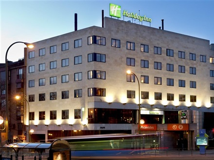 Imagine principala Hotel Holiday Inn Piramides  Madrid