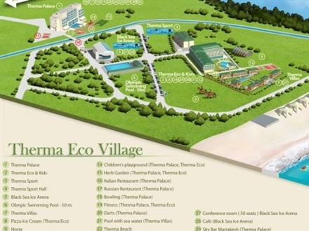 Main image Therma Eco Village  Kranevo Resort
