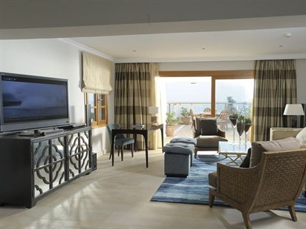 VIP Site Presidential Suite Living Room Sea View