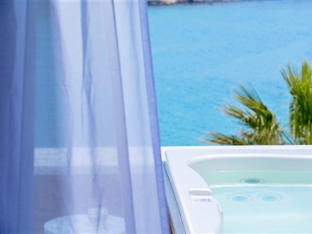 Superior Sea View Suite with Outdoor Jacuzzi