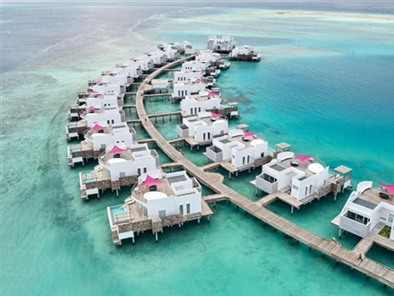 LUX North Male Atoll Resort Villas  Nord Male Atoll