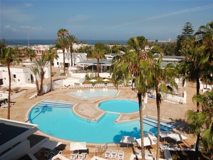 Imagine principala Hotel Allegro Les Almohades Beach Resort   Orasul Agadir