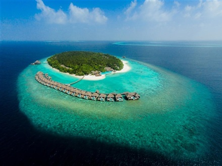 Imagine principala Dusit Thani Maldives  Baa Atoll