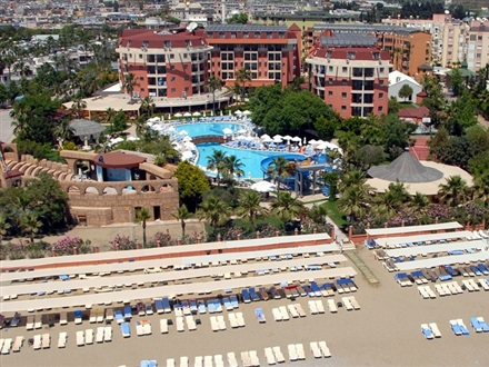 Imagine principala Palmeras Beach Hotel Ex. Club Insula   Alanya