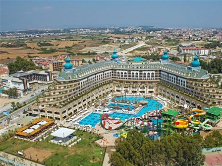 Book at Crystal Sunset Luxury Resort Spa, Side, Antalya, Turkey