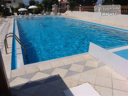 Silver Beach Hotel And Annexe Apartments Roda Corfu Greece
