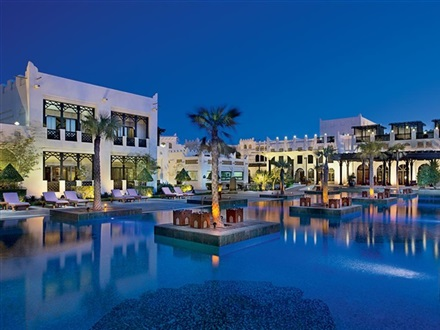 Imagine principala Sharq Village Spa Ritz Carlton Hotel  Doha