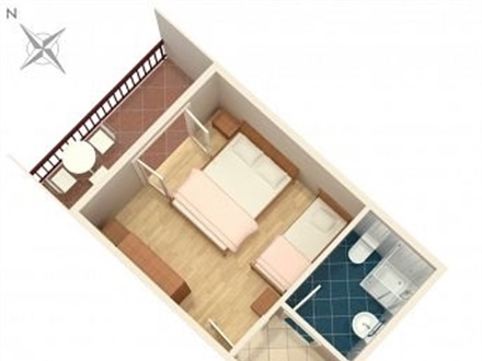 Studio-Apartment AS-2973-a