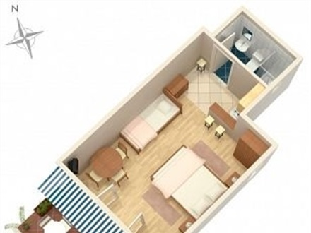 Studio-Apartment AS-5585-a