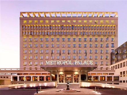 Imagine principala Metropol Palace A Luxury Collection Hotel Belgrade  Belgrado