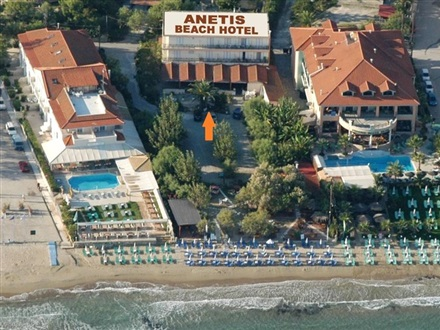 Imagine principala Hotel Anetis Beach  Tsilivi