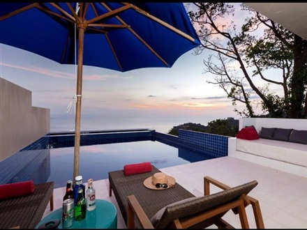 Imagine principala Grand Bleu Ocean View Pool Suite  Kamala