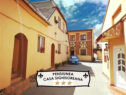 Imagine principala Casa Sighisoreana  Sighisoara