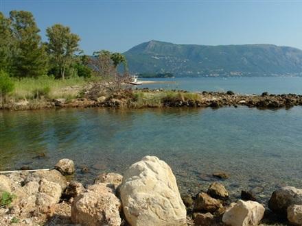 Book at Villa Rossa, Dassia Bay, Corfu island, Greece