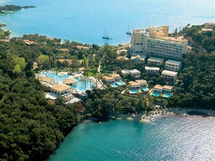 Imagine principala Hotel Grecotel Eva Palace Luxury Resort  Kommeno Corfu