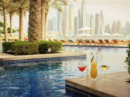 Fairmont The Palm Hotel  Dubai