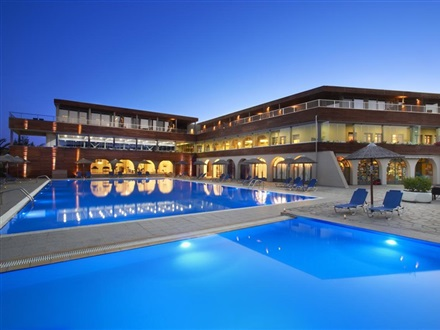 Imagine principala Hotel Blue Dolphin  Sithonia Metamorfosis