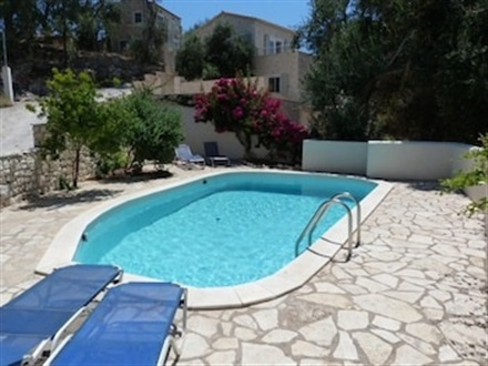 Main image Studio In Lakka With Wonderful Sea View Pool Access And Furnished Terrace 2 Km From The Beach  PAXOS ISLAND
